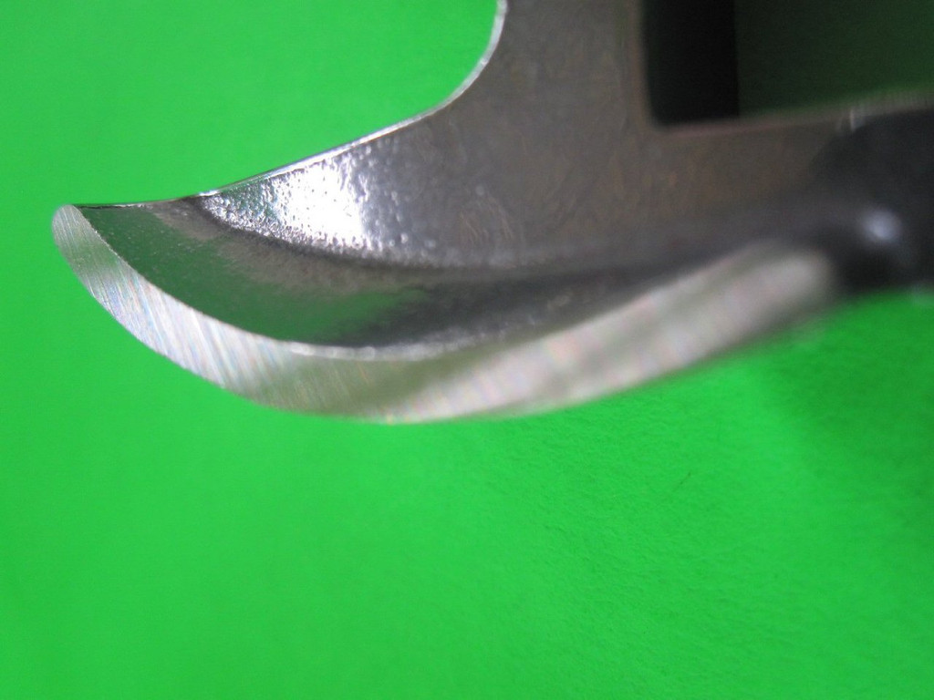 """Size #42 x 1 """" AND KNIFE Meat Grinder Disc Plate for Cabelas, Hobart, Weston etc"""