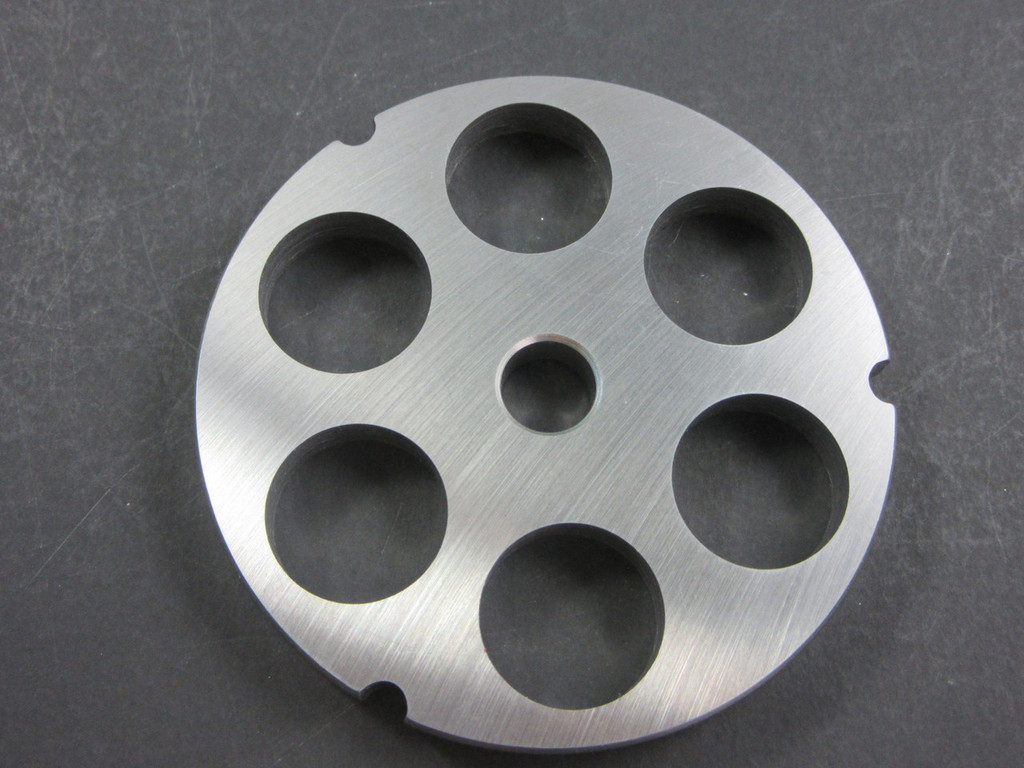 "#32 x 1"" (25mm) STAINLESS Meat Grinder Plate Screen for Hobart 4332 4532 LEM etc"