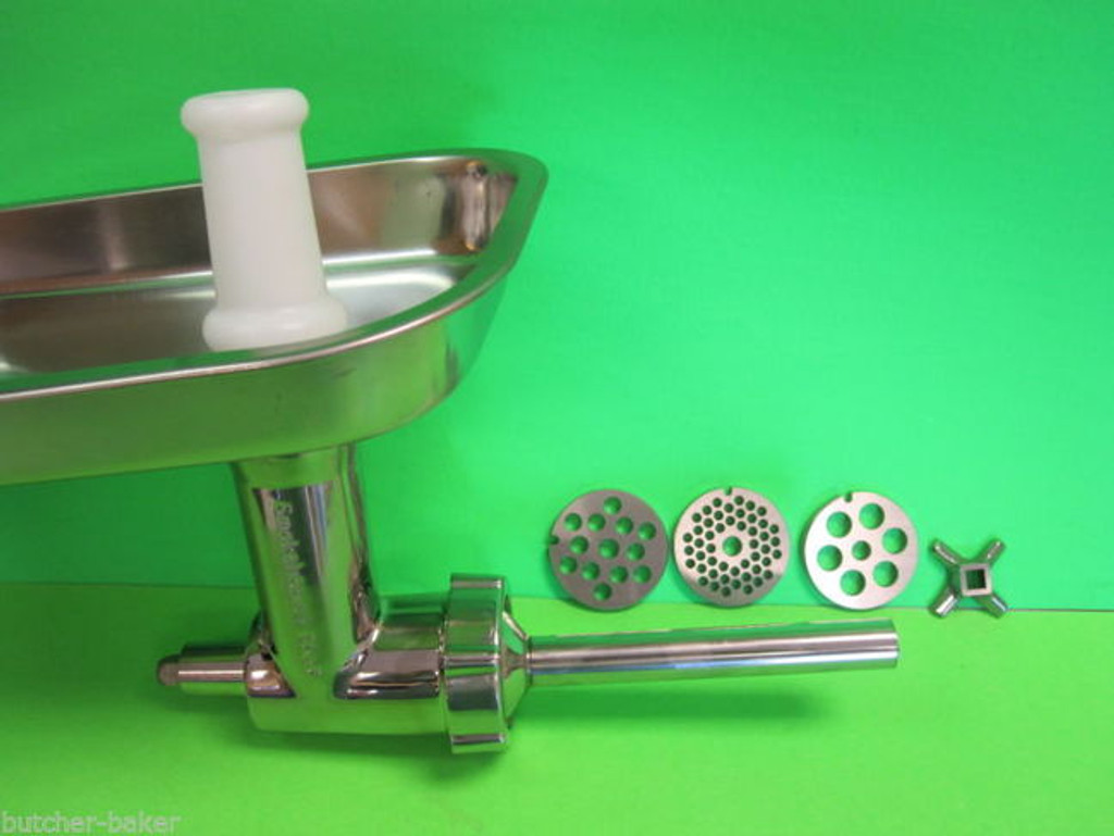 Stainless Steel Meat Grinder Food Chopper Attachment for Globe SP05 SP5 mixer