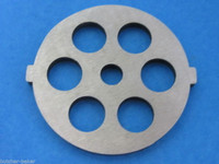 """Meat Grinder plate disc die for electric Waring Pro & Oster w/ 1/2"""" Coarse Grind"""