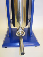 16 Lb manual sausage Stuffer for link sausage.  2-speed. STAINLESS STEEL + 4 tubes