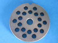 """#5 x 1/4"""" (6mm) hole size Meat Chopper Grinder plate disc for Electric or Manual"""