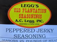 PEPPERED Jerky Seasoning Spices for 25 LBS of meat Venison Elk Beef Deer Moose