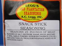 ORIG. SNACK STICK SEASONING for 100 Lbs Beef Deer Elk Sausage Slim Jims etc