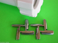 *TWO* NEW STYLE SHARP KNIFE for KitchenAid FGA Mixer Meat Grinder Food Chopper