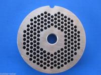 """#8 x 1/8"""" FINE hole size meat grinder chopper plate disc die LEM Cabelas etc"""
