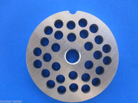 "#5 x 3/16"" Plate Disc PLUS 1 knife for Meat Grinder Grinding STAINLESS STEEL"