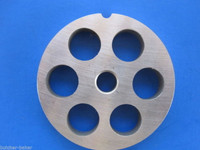 "#5 x 1/2"" Large Grind size Meat Chopper Grinder plate disc"