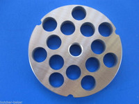 """#32 5/8"""" (16mm) STAINLESS Meat Grinder Plate Screen for Hobart 4332 4532 LEM etc"""