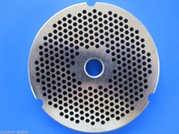 """#32 1/8"""" 3mm STAINLESS Meat Grinder Plate Disc for Hobart 4332 4532 TorRey more Replacement Part 00-108580-00002"""