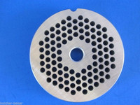 "#22 x 3/16"" hole STAINLESS Meat Grinding Grinder Plate disc & Cutter Knife"