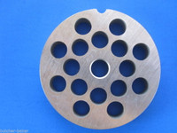 """#12 x 3/8"""" holes STAINLESS Meat Grinder Mincer plate disc screen Hobart 4812 etc  replaces Hobart 00-016426-00002"""