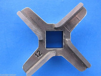 #12 CLASSIC STYLE Meat Grinder Chopper Mincer Knife Blade made of Carbon Steel