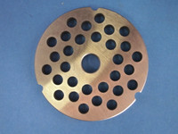 "Size #42 x 3/4 "" AND KNIFE Meat Grinder Disc Plate for Cabelas, Hobart, Weston etc"