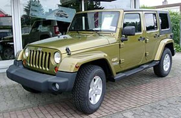 Jeep Wrangler Legroom