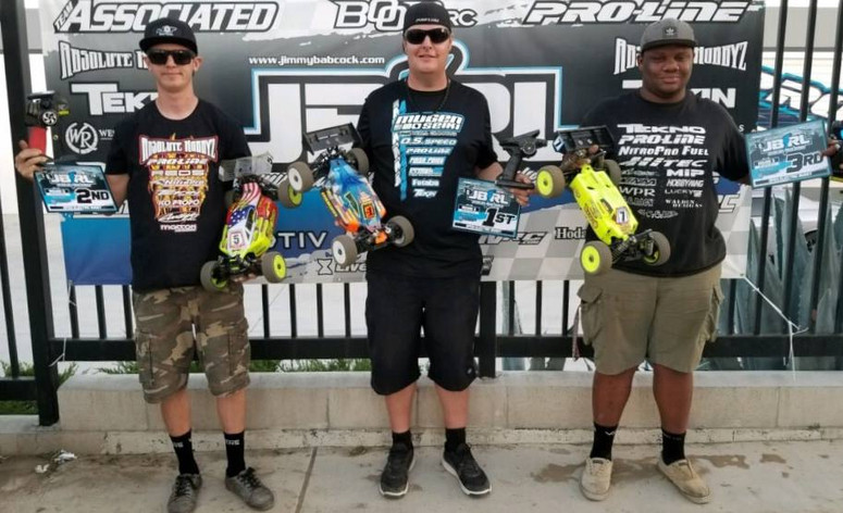 ​Adam Drake for sweeps round 3 of the JBRL Nitro Series at Pro-Line Raceway!