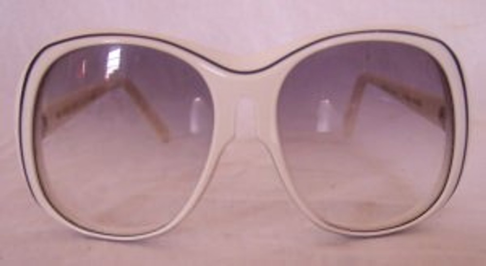 Renauld White Sunglasses