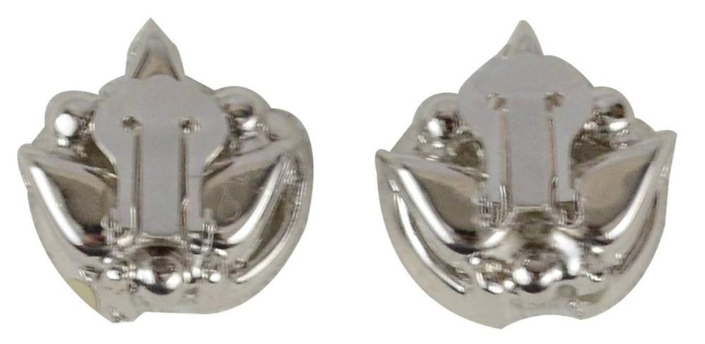 Vintage Tear Drop Rhinestone Earrings