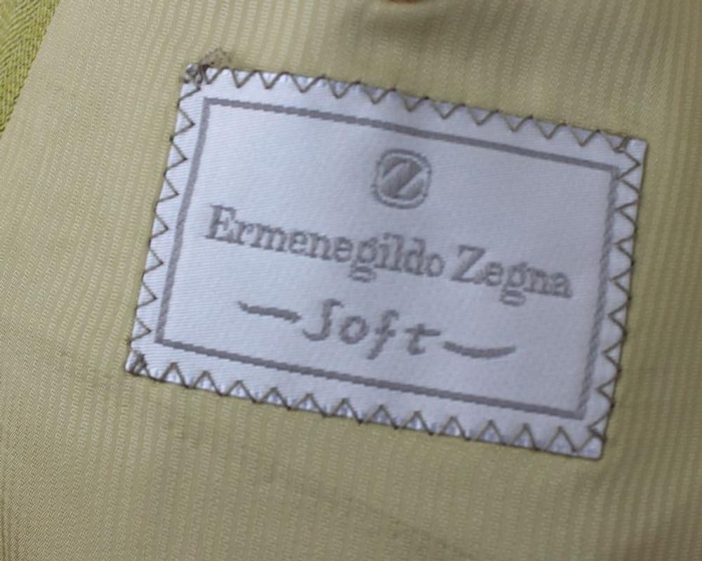 Zegna Pistachio Linen Blazer