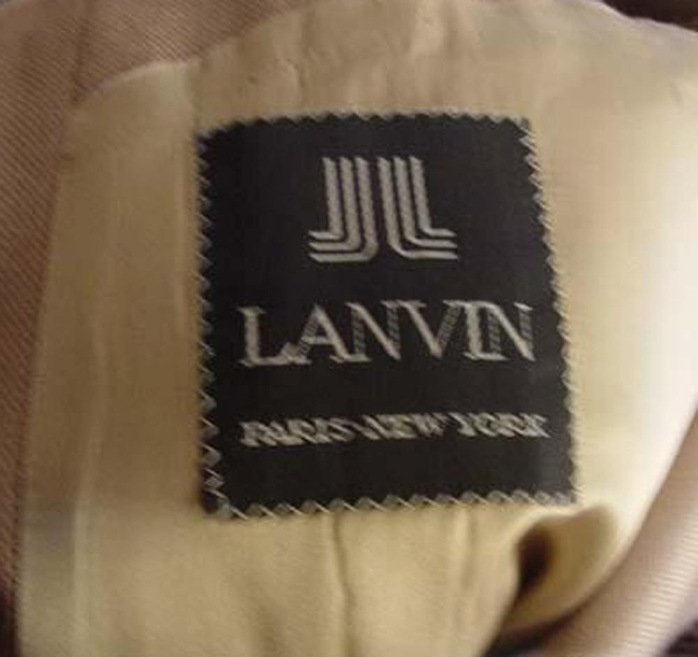 Mens Tan Lanvin Jacket