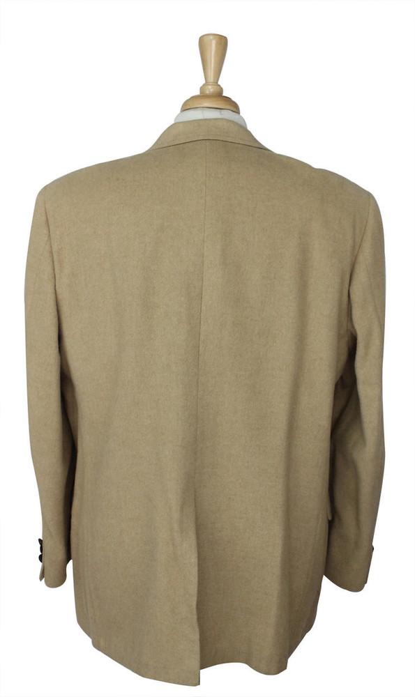 Vintage Wallachs Dick Richmond Tan Camel Hair Jacket