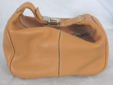 Tod's Tan Leather Extra Small Handbag