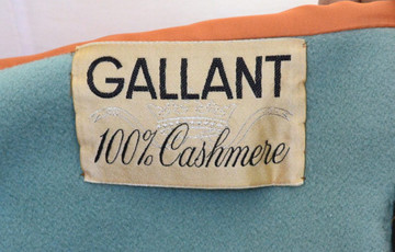 Vintage Gallant Cashmere Coat