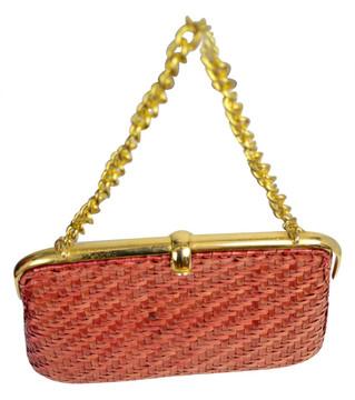 Vintage Rodo Sienna Woven Bag