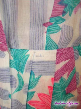 Vintage Emilio Pucci Purple & Pink Cotton Shirt Waist Dress 1