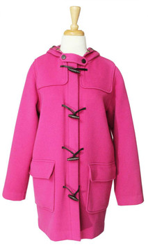 Lilly Pulitzer Pink Wool Coat