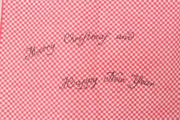 "Vintage Emilio Pucci 1960s ""Merry Christmas"" Print Scarf"
