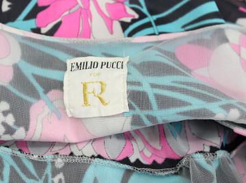Vintage Emilio Pucci for Formfit Rogers 1960s Black & Pink Top