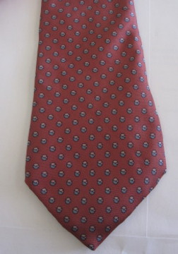 Christian Dior pink dot tie