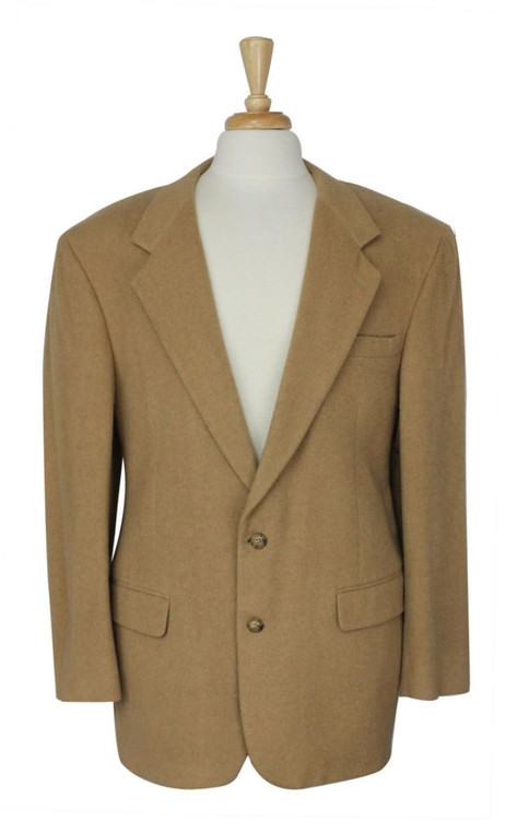 Bill Blass Tan Camel Hair Blazer