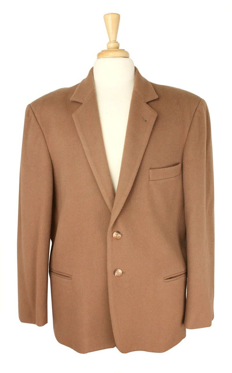 Saks Fifth Ave Copper Cashmere Blazer