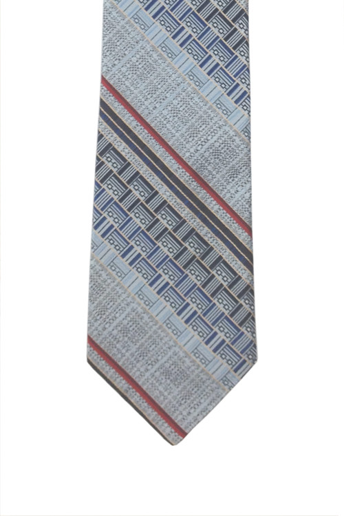 Mr. John Silver Blue Retro Tie