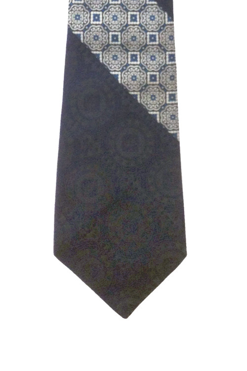 "Vintage Navy Blue Retro ""Don Loper"" Tie for Burdines"