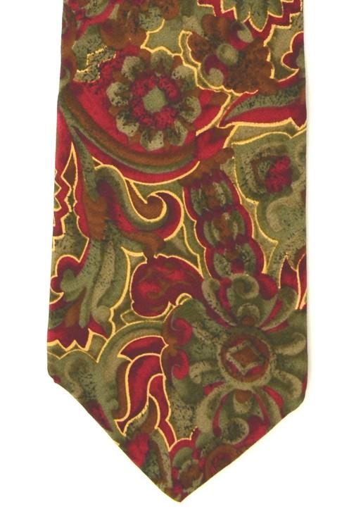 Cellini Silk Large Paisley Silk Tie
