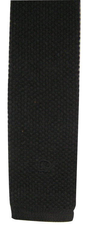 Pierre Cardin Vintage Black Knit Tie with Logo Tip