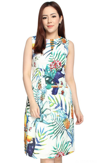 Birds of Paradise Dress