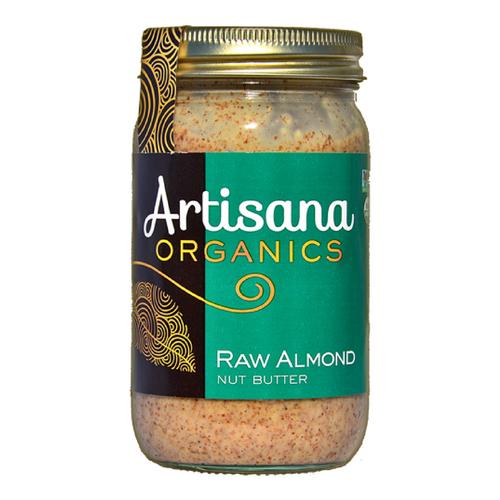 Artisana Raw Organic Almond Butter - 14 Ounce Jar