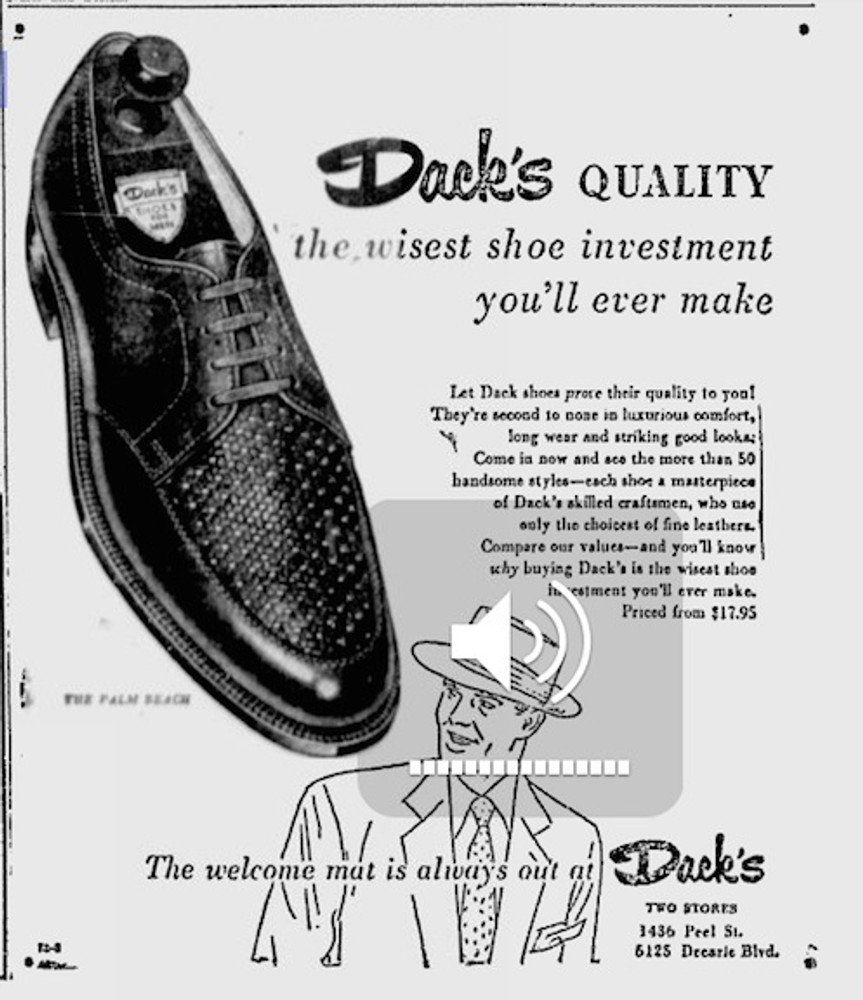 Dack's Quality, the wisest shoe investment you'll ever make