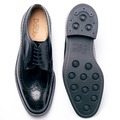 DUFFERIN - Black Polished - F (RUBBER SOLE)