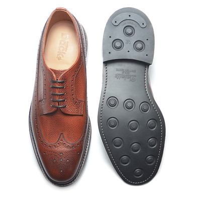 DUFFERIN - Mahogany Country Calf (Rubber Sole)- H