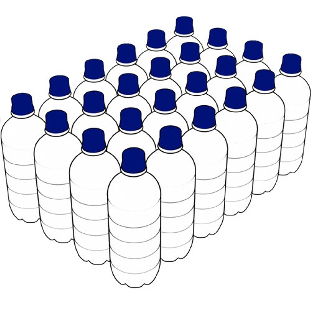 Unique Water 600mL bottles (carton of 24)