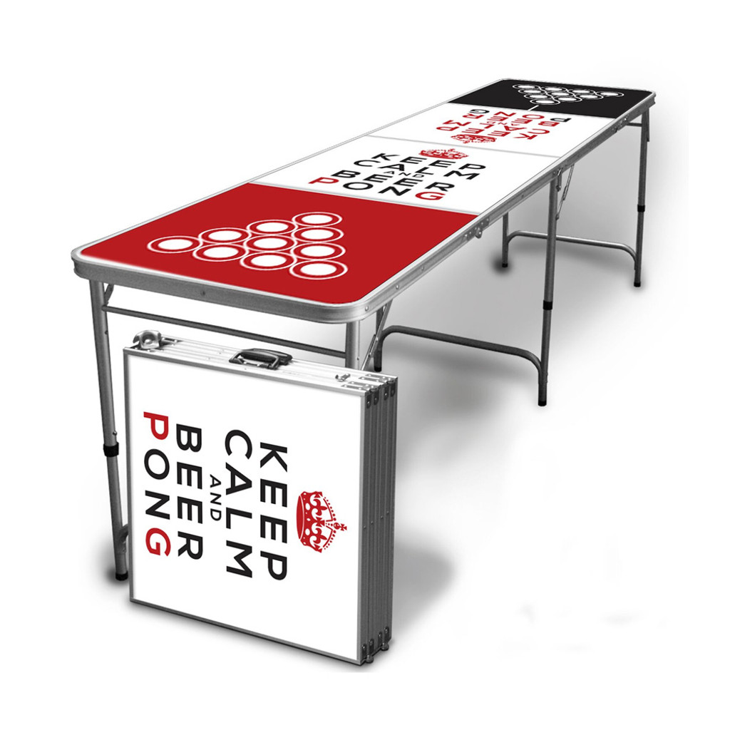 Keep Calm Beer Pong Table