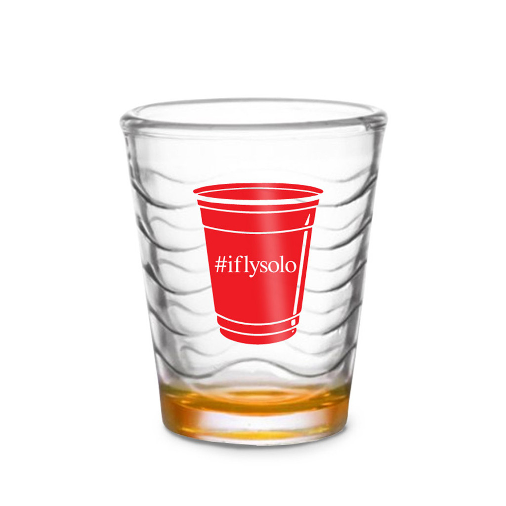 Custom Shot Glass - Red Cup (Set of 4)