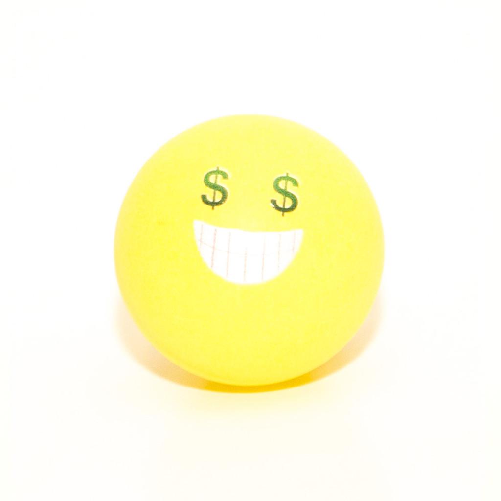 Emoji Pong Balls - Best Seller Pack (16 balls)