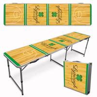 Custom Beer Pong Table - Shamrock