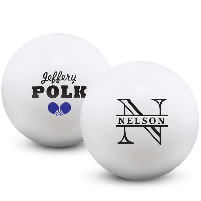 Pong University Custom Balls